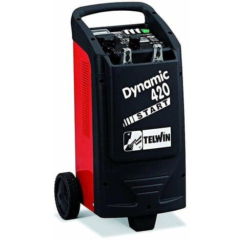 Telwin - Cargador y arrancador de baterías para todos los vehículos 12/24V 400A - Arranque dinámico 420