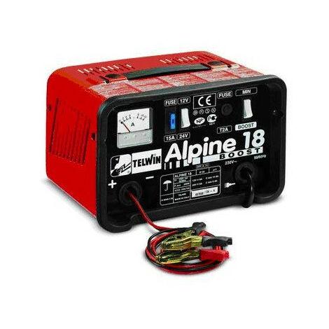 Telwin - Chargeur de batterie 12-24V 14-8A 200W - Alpine 18 Boost