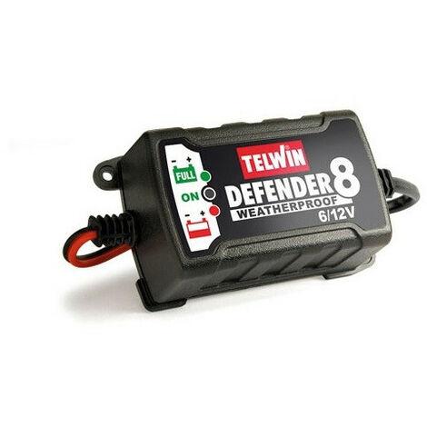 Telwin - Chargeur de batterie 1PH 100V-240V ( 6V/12V) 15W - DEFENDER 8