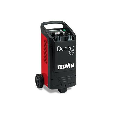 Telwin - Chargeur de batterie multifonction 12 / 24 V puissance de charge 1 kW - DOCTOR START 330