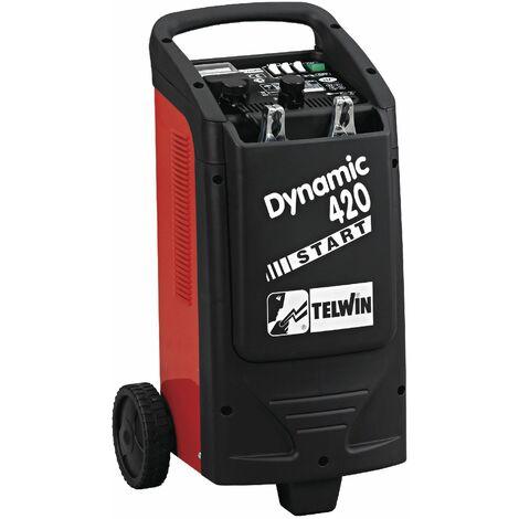 Telwin - Chargeur et démarreur de batterie tout véhicule 12/24V 400A - Dynamic 420 start