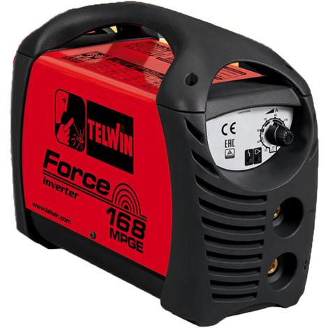 Telwin Force 168 MPGE MMA / WIG Schweißgerät Elektrodenschweißgerät für Generatorbetrieb Outdoor Schweißgerät 10-150 A
