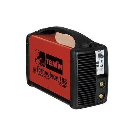 Telwin - Poste à souder à l'Arc portable Inverter - Tecnica 188 MPGE