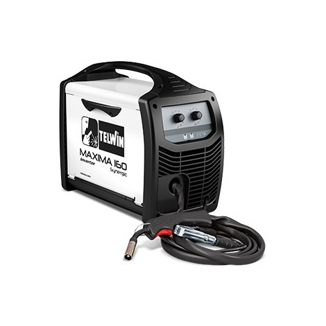 Telwin - Poste de soudage inverter à fil MIG-MAG/FLUX/BRAZING 1,2-2,6 kW 44V - MAXIMA 160 SYNERGIC