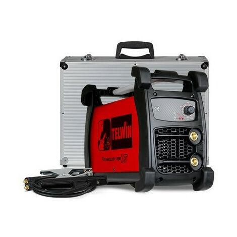 Telwin - Poste de soudage inverter MMA et TIG 230V 6kW 5-200A avec mallette - TECHNOLOGY 236 XT 230V ACX+MALLETTE ALU.