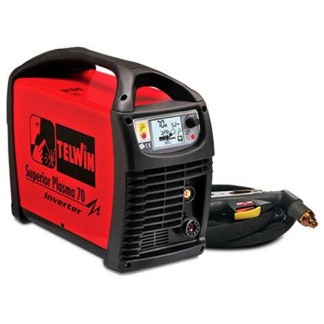 Telwin - Poste Découpeur plasma à air comprimé Inverter 5,5/8,5kW 3Ph 4-5bar - SUPERIOR PLASMA 70 230V/400V + ACC.