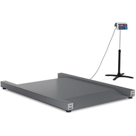 TEM Balance Industrielle Au Sol Électrique Professionnelle Plateforme 2 kg à 600 kg, ±200g