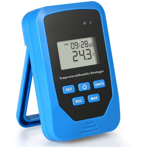 Temperature and Humidity Recorder Warehouse Lab TL-505 Blue Without battery delivery