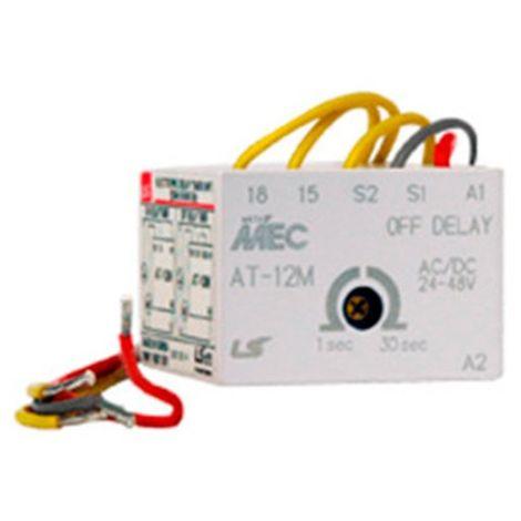 Temporizador a la conexión para minicontactor 230V - LSis