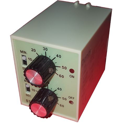 Temporizador cíclico analógico 230Vac
