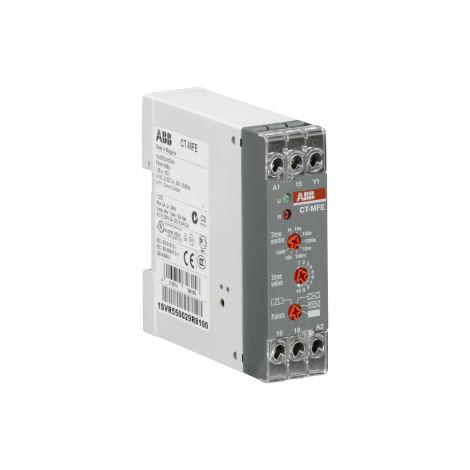 TEMPORIZADOR CT-MFE 24-240V AC-DC 0,05S-100H ABB 1SVR550029R8100