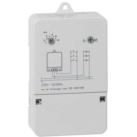 Temporizador de escalera iluminación Legrand AlphaRex pared 10A 250V 049783