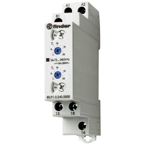Temporizador de retransmisión Buscador de modular Intermitente 12 240Vac dc 809102400000