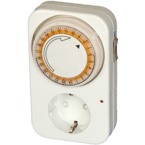 Temporizador diario 24 hs. ajuste cada 15 min (GSC 400114) (Blíster)