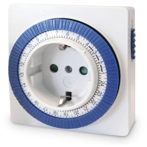 Temporizador diario 3500W 230V 16A (GSC 400270) (Blíster)
