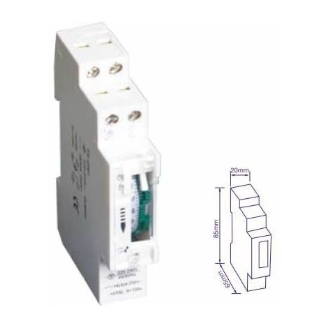 Temporizador mecánico 24 horas 230V 16A (GSC 0400269)