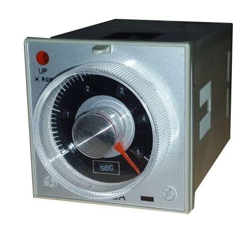 Temporizador multirrango 48x48 enchufable 24Vac/dc (a la conexión)