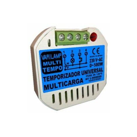 Temporizador Universal a Pulsadores o Interruptores Varilamp MULTITEMPO500
