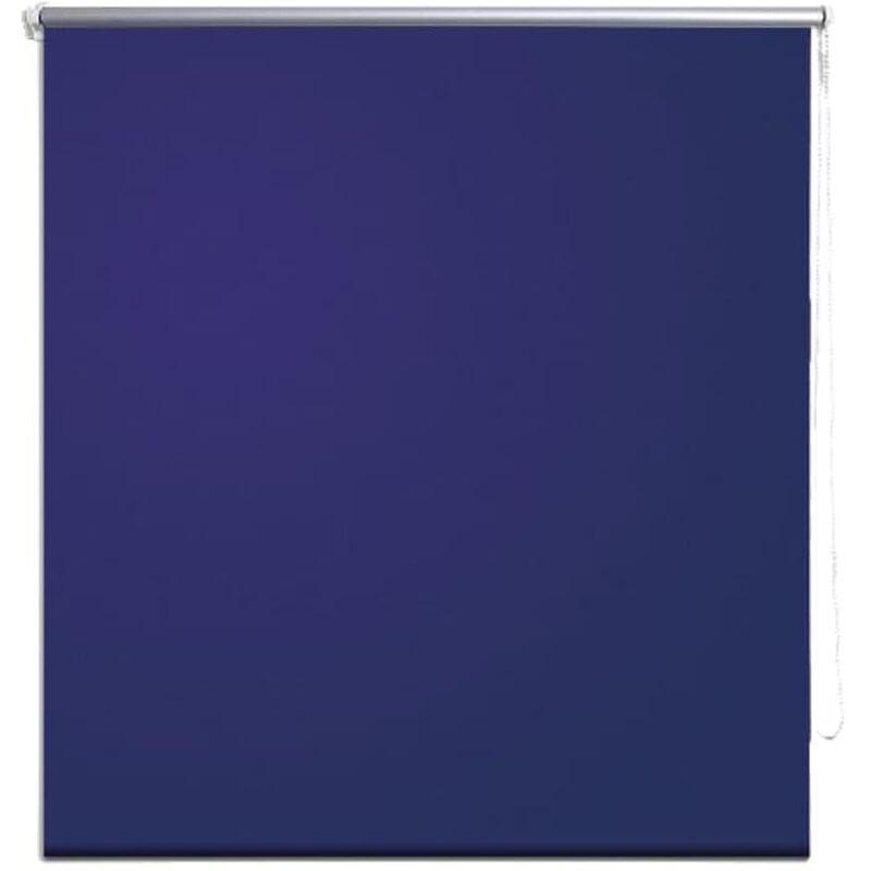 Tenda A Rullo 140.Tenda A Rullo Oscurante 140 X 230 Cm Blu Marino