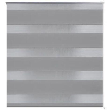 Tenda A Rullo Oscurante Zebra 100x175 Grigia