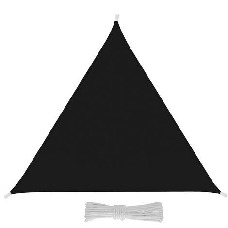 Tende Triangolari Da Esterno.Tenda A Vela Triangolare 4x4x4 Metri Grigio Antracite