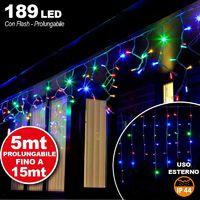 10 Lampade da Giardino ricarica solare Paletti solari Tecnologia LED Luce Color