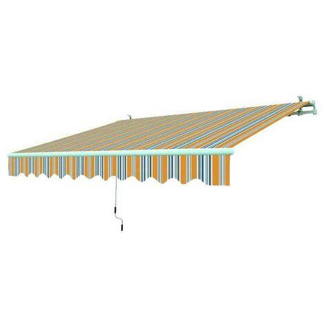 Tenda da sole avvolgibile a sbraccio Cm. 395x250