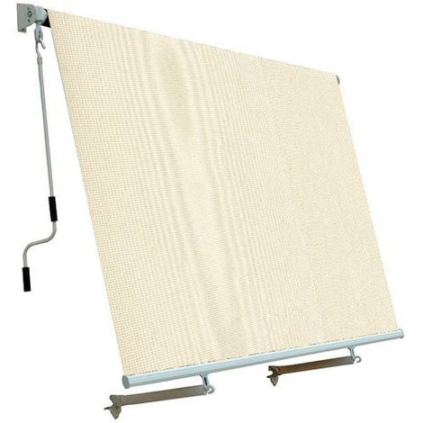 SanGiorgio tenda da sole avvolgibile beige 2x3 mt fissaggio soffitto  parete bal