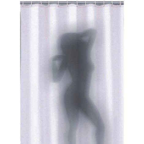 Tende Per Doccia Bagno.Tenda Doccia Sexy Da Bagno Donna Nuda In Poliestere 180 X 180 Cm Tendina Bagno