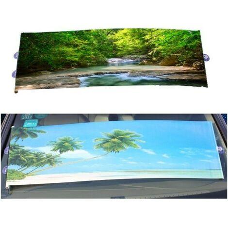 Tende Parasole Avvolgibili Per Auto.Tenda Parasole Tendine Auto Sportello Laterale Rullo Avvolgibile A Ventosa