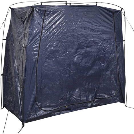 Tenda per Riporre la Bicicletta 200x80x150cm Blu