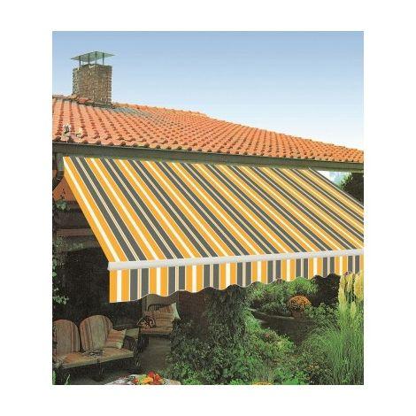 Tende Da Sole Per Balconi.Tenda Tende Da Sole A Balcone Muro Bracci Estensibili 300x250 Cm Vari Colori