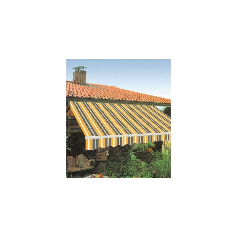 TENDA DA SOLE CASSONATA per Balconi con BRACCI Colore ECRU 300x250 cm
