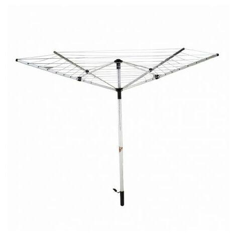Tendedero alum.paraguas 50mts.