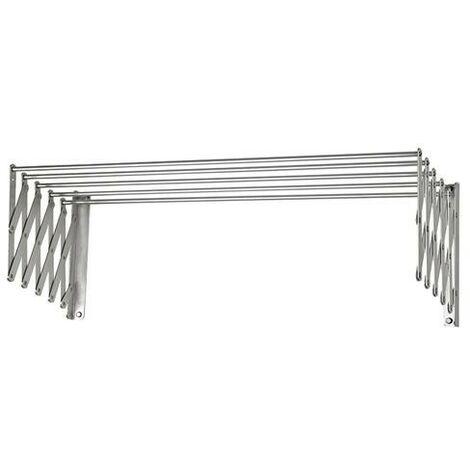 Tendedero Extensible Pared Aluminio 1,00 Metros