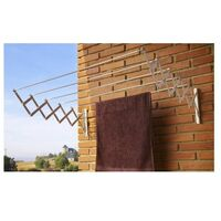 Tendedero Pared 5 Barras 180Cm Ext Ac.Ep. Bl Acordeon Cuncial