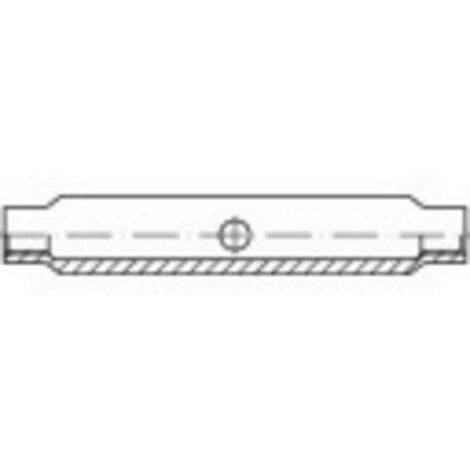 Tendeur à écrou M16 acier étamé par galvanisation TOOLCRAFT 136561 DIN 1478 1 pc(s)