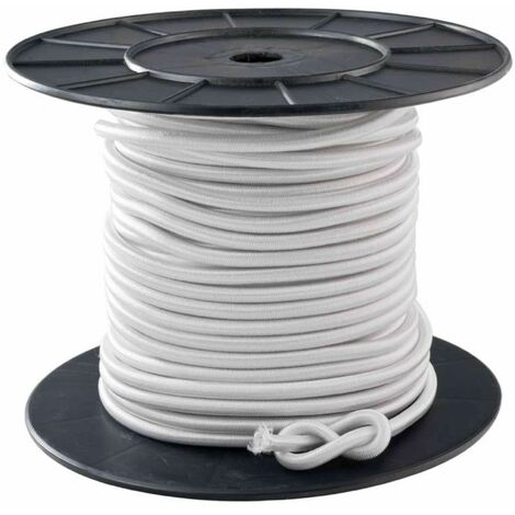 Tendeur blanc 10 mm x 40 mètres sur bobine