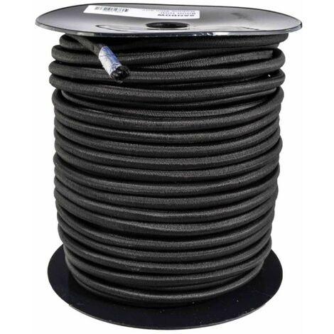 Tendeur noir 10 mm x 40 mètres sur bobine