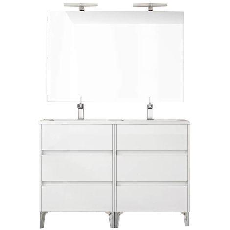 TENERIFE Conjunto mueble de baño Blanco 120 cm