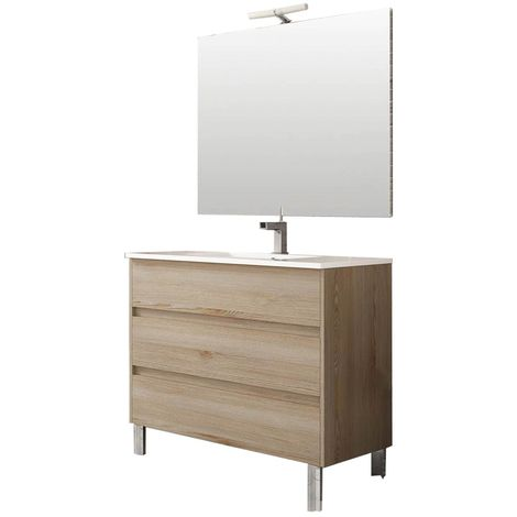 TENERIFE Conjunto mueble de baño Ida 100 cm