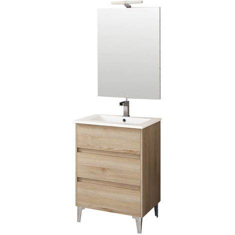 TENERIFE Conjunto mueble de baño Ida 60 cm