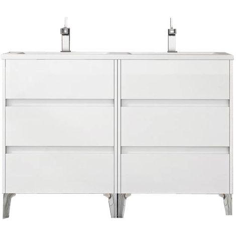 TENERIFE mueble de baño Blanco 120 cm