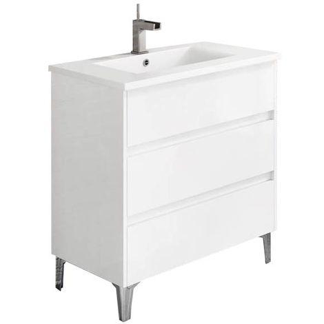 TENERIFE Mueble de baño Blanco 80 cm