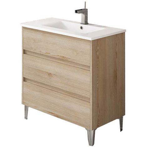 TENERIFE Mueble de baño Ida 80 cm