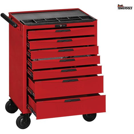 TENG 515 PCE KIT IN 7 DRAWER ROLLER CABINET