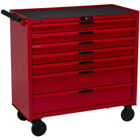 Teng TCW207N Tool Box Roller Cabinet 37in 7 Drawer