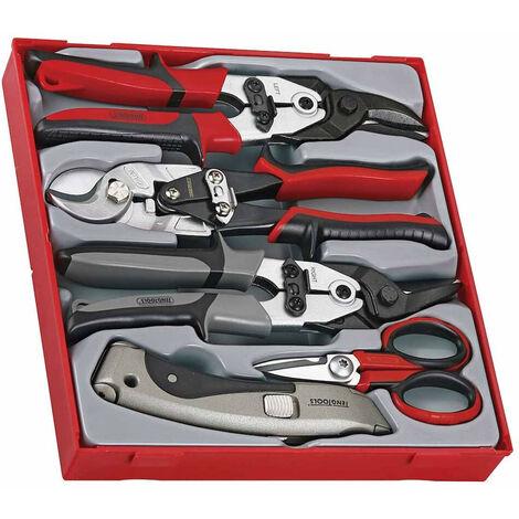 """main image of """"Teng Tools TTDCT05 5 Piece Cutting Tool Set"""""""