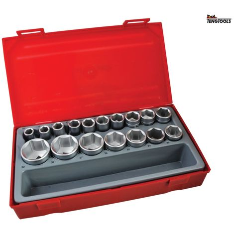 TENG TT1217-6 SOCKET SET 17PC MM 1/2D