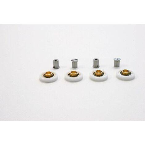 Teniendo + pines para puerta ducha samo acrux RIC1140 | cojinetes